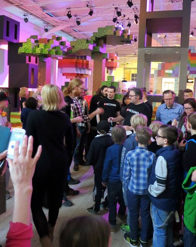 #Blockholm #Minecraft #Mojang #architecture #design at Arkitektur- och designcentrum, The Swedish Centre for Architecture and Design.