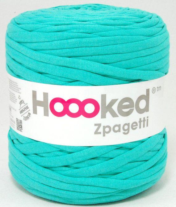 tshirt yarn 135 yards recycled cotton tricot named by kitsdiezijn, $14.20