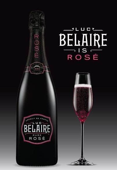 El Mejor champagne Rosado del Mundo.
