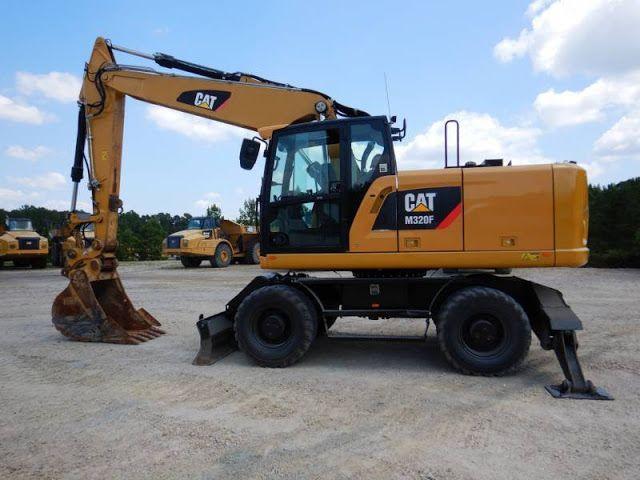 Download Service Repair Manual Ebook: Cat M320 Wheeled Excavator