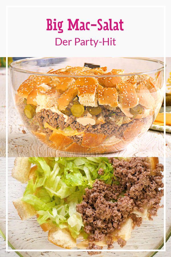 Big Mac-Salat – das Rezept für den Party-Hit