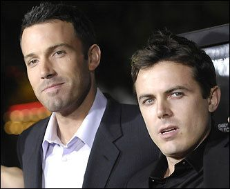 Affleck brothers at premiere - Ben & Casey