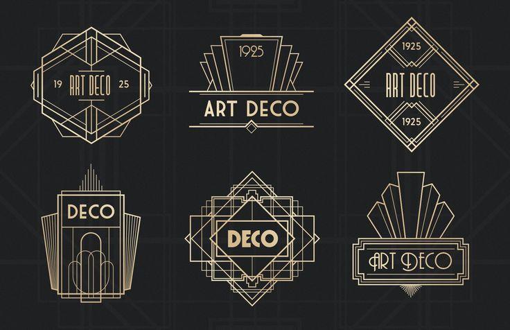 Art Deco Badges Medialoot American Craft Practice Ideas Deco