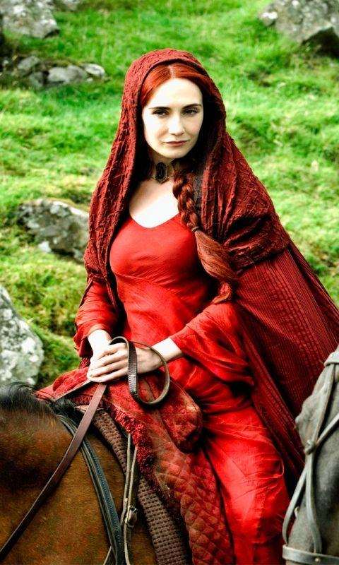 Carice van Houten as Melissandre #GameofThrones #GOT