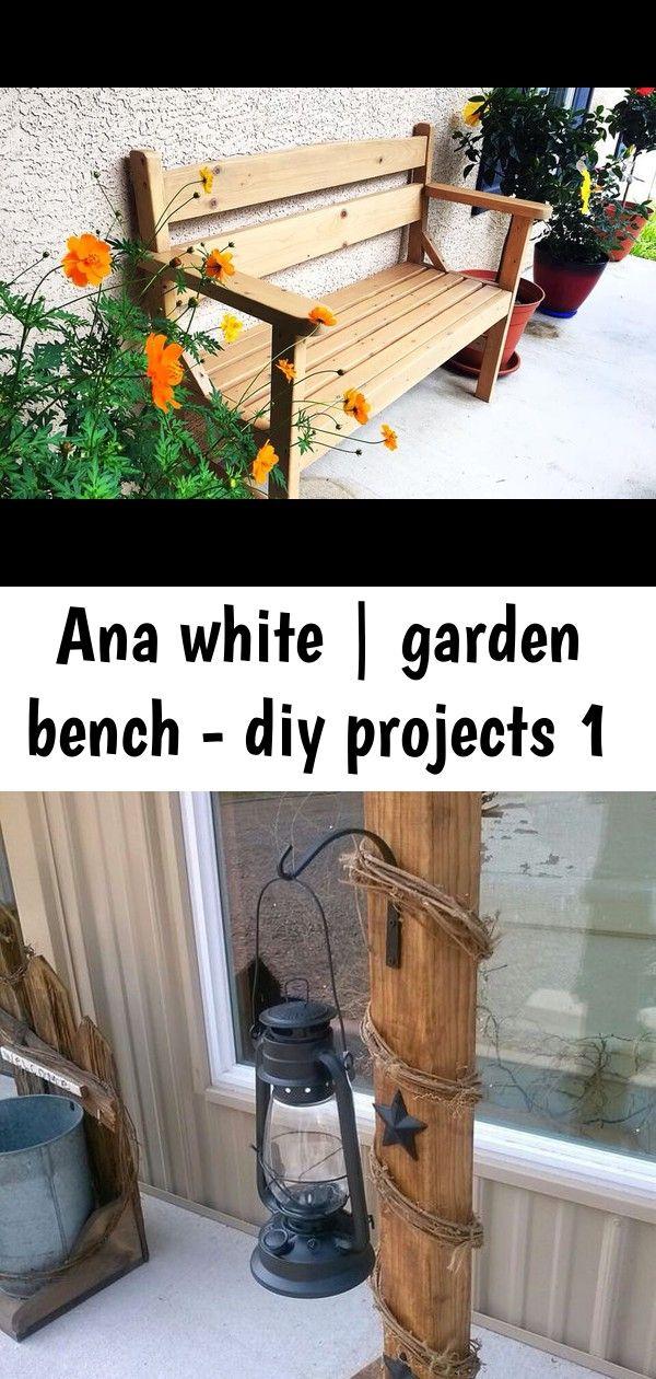 Ana white | garden bench - diy projects 1 | Garden bench ...