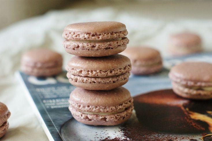 Franske makroner med hvit sjokolade ganache – MYFOODPASSION