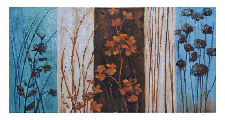 """""""Harmony"""" by Olivia Salazar  60 X 30 X 1.5"""""""