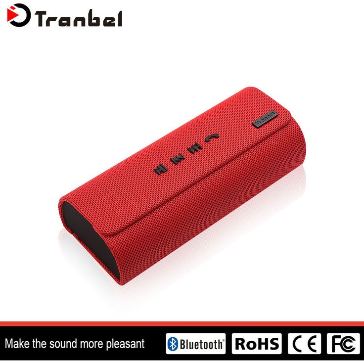2017creative design patent number fabric bluetooth speaker support 3.5MM line in cable