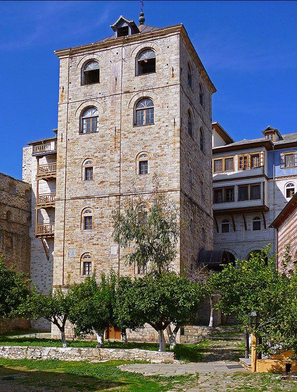 Xenofontos Monastery, Mount Athos, Greece