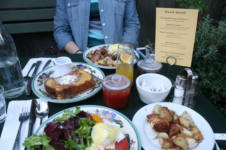 Zazie brunch in San Francisco - YUM
