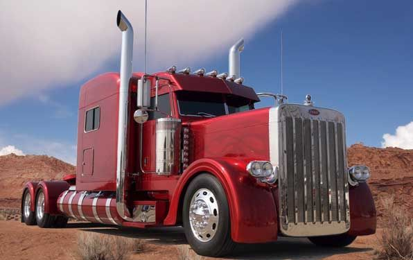 American Custom Big Rigs - Tricked out Truck Photographs - MATS 2008 - Roger Sniders Ultra Rigs of the World