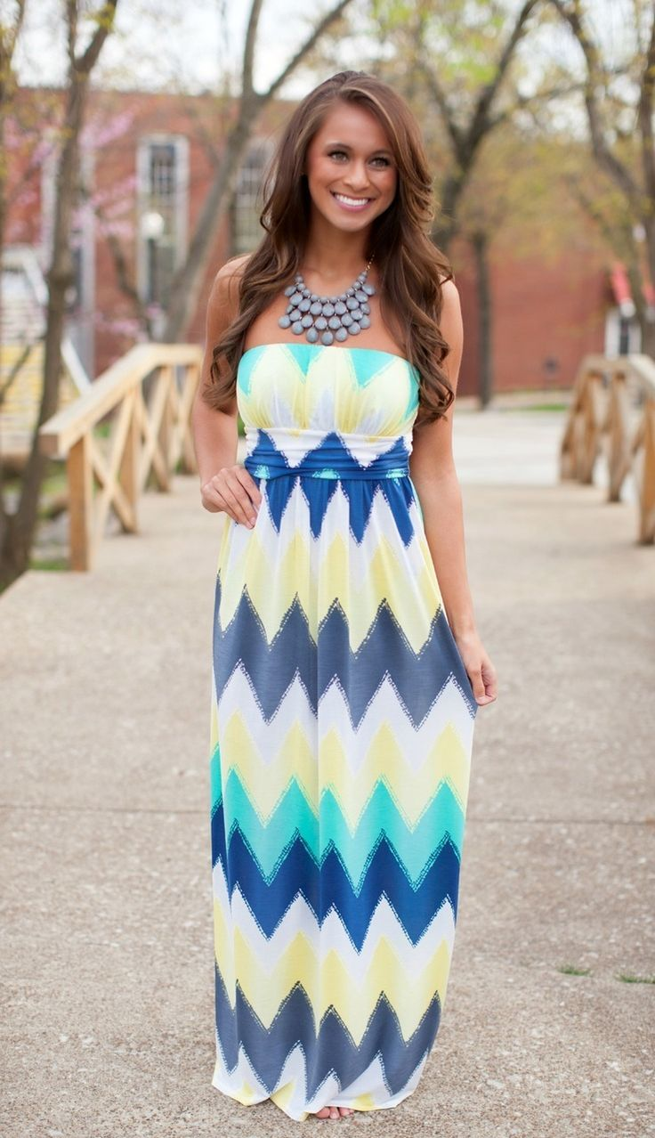 The Pink Lily Boutique - Live Your Life Yellow Maxi, $40.00 (http://thepinklilyboutique.com/live-your-life-yellow-maxi/)