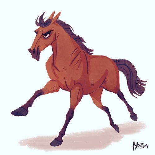DHD 047: American Pharoah  (REPOST! I forgot his little star!) After HUGE request via Twitter, tumblr and IG, behold the famous new triple crowner!