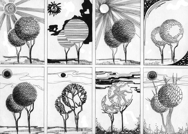 задания по композиции в картинках течение нескольких