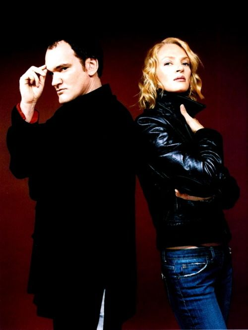 Quentin Tarantino and Uma Thurman.  Collaborations include Pulp Fiction and the Kill Bill movies.