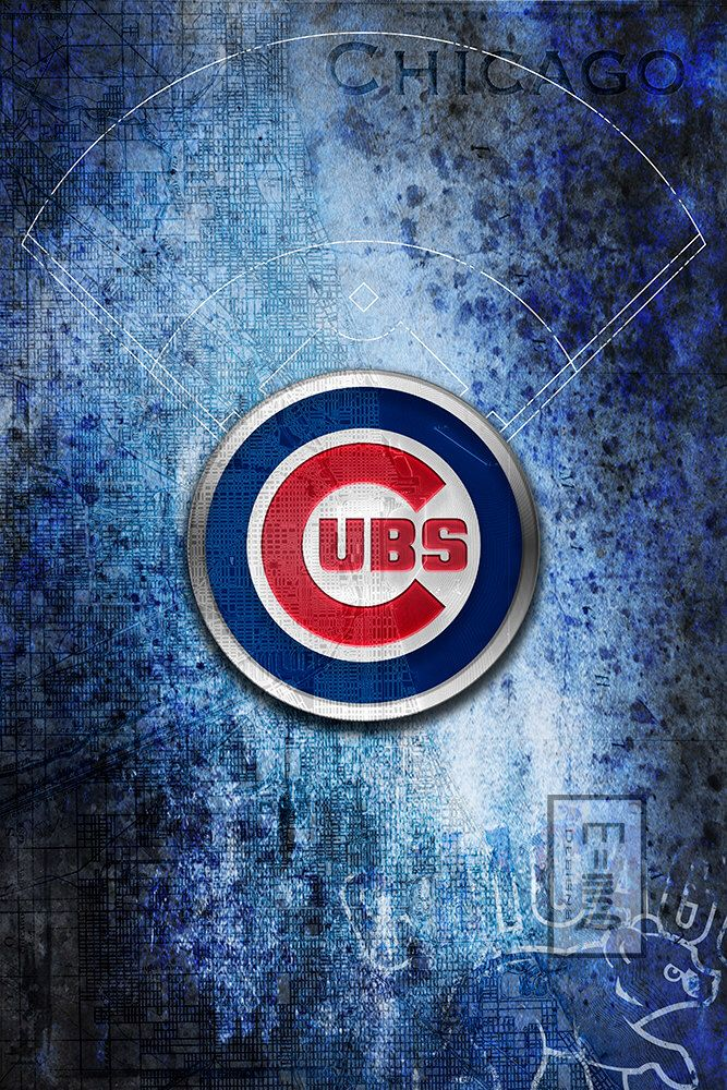 A personal favorite from my Etsy shop https://www.etsy.com/listing/269369773/chicago-cubs-art-chicago-cubs-poster