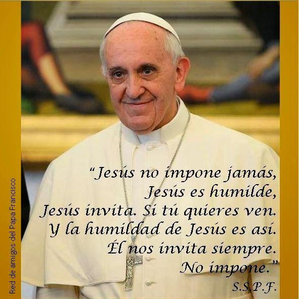 """Reli en """"Los Dragos"""": Frases del Papa Francisco"""