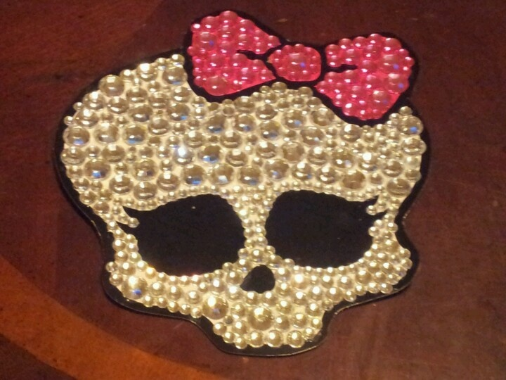 Blinged Monster High Cake Topper