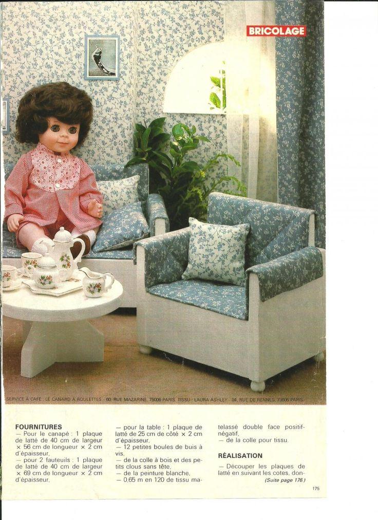 PAR AMOUR DES POUPEES :: M&T 1982-11 Bienvenue chez nos poupées : Salon de M-Françoise et Michel