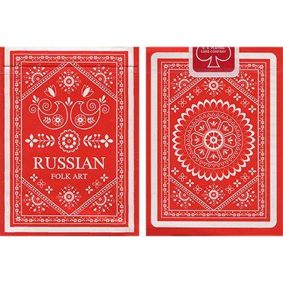 Russian Folk Art Deck by Natalia Silva - Trick