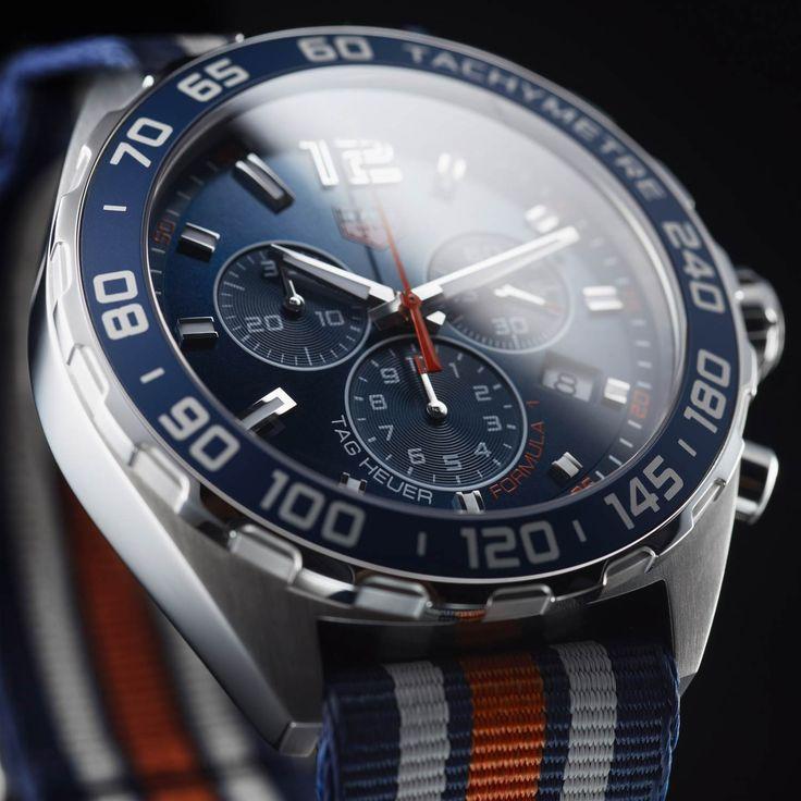 TAG Heuer Formula 1 Sport-Chronograph CAZ1014.FC8196 mit NATO-Armband