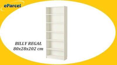 IKEA BILLY regał szafka półka BIAŁY 80x28x202 cm