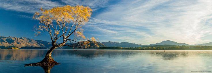 Panoramatické puzzle HEYE 1000 dílků - Jezero Wanaka
