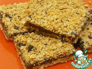 Рецепт: Ореховое печенье с шоколадным кремом