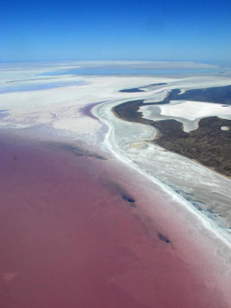I would love to see Lake Eyre, South Australia at the moment. Hardly ever has water and the last two years it has. Love to see the bird life. S