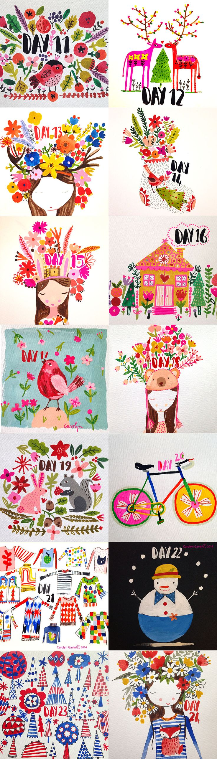 Christmas Calendar Illustration : Best ideas about may calendar on pinterest