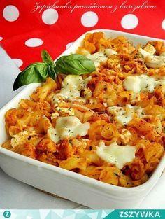 Zobacz zdjęcie Zapiekanka pomidorowa z kurczakiem i fetą ♥♥♥ Składniki na 3-4…