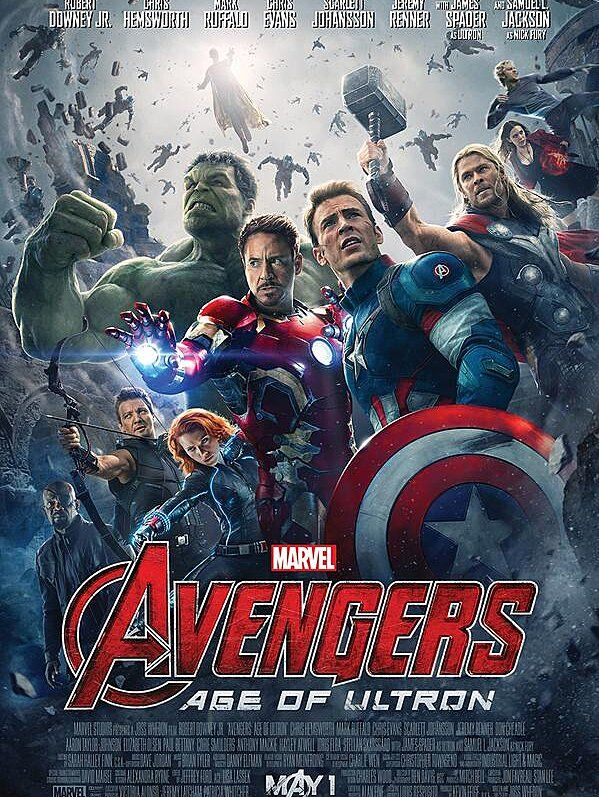 The Official Avengers Age Of Ultron Poster Is Very Crowded Age Of Ultron Avengers Age Avengers