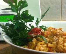 Recipe Clone of One Pot Chicken & Sundried Tomato Fettucine by jowhit - Recipe of category Pasta & rice dishes