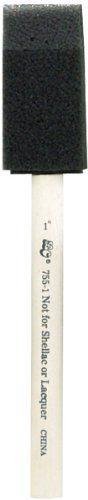 Loew-Cornell Foam Brush, 1-Inch, 50 Per Package