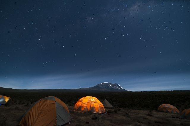 Kilimanjaro! Shira Camp...Western Breach route. www.TarajiKilimanjaro.com