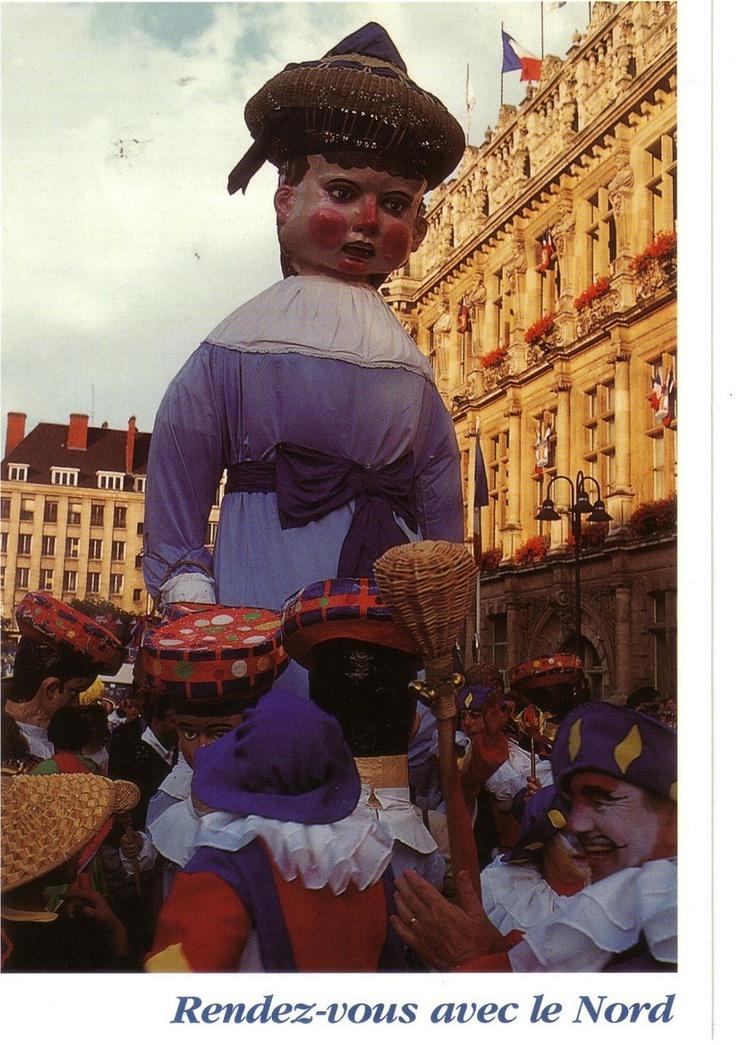Le géant BINBIN de Valenciennes.