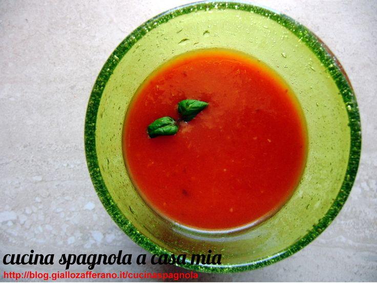 GAZPACHO | Cucina Spagnola: http://blog.giallozafferano.it/cucinaspagnola/gazpacho-cucina-spagnola/