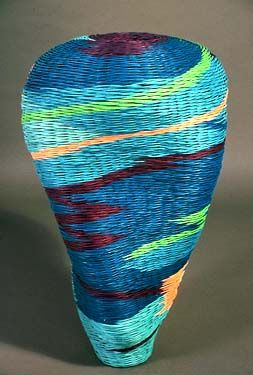 Herman Guetersloh | 'Free Spirit'.  Dyed Reed.