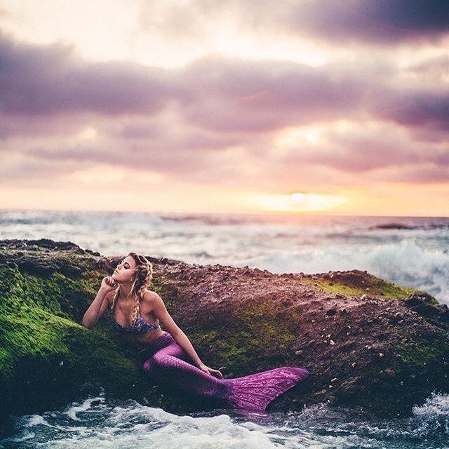 Lust auf eine ausgefallene Party mit euren Freundinnen? Ein alternatives Wellness-Wochenende? Besorgt euch Meerjungfrauen-Swimwear und los geht's...♡
