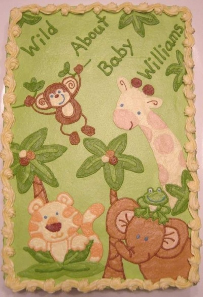 find this pin and more on cake decoration jungle baby shower