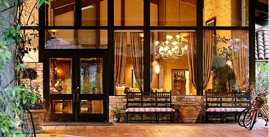 Westlake Village Inn: This is the beautiful location that will host Jake and Abby's reception.  Also where you can find lodging.