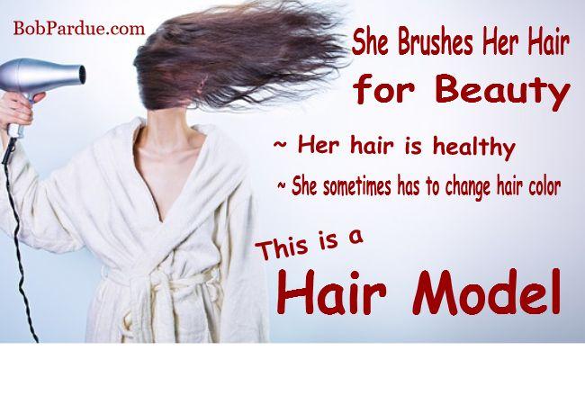 Hair Model Meme - What is a Hair Model?