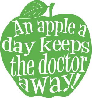 An Apple a Day Keeps the Doctor Away.  True, indeed!  Apples are rich in vitamins, minerals, phytonutrients and dietary fiber
