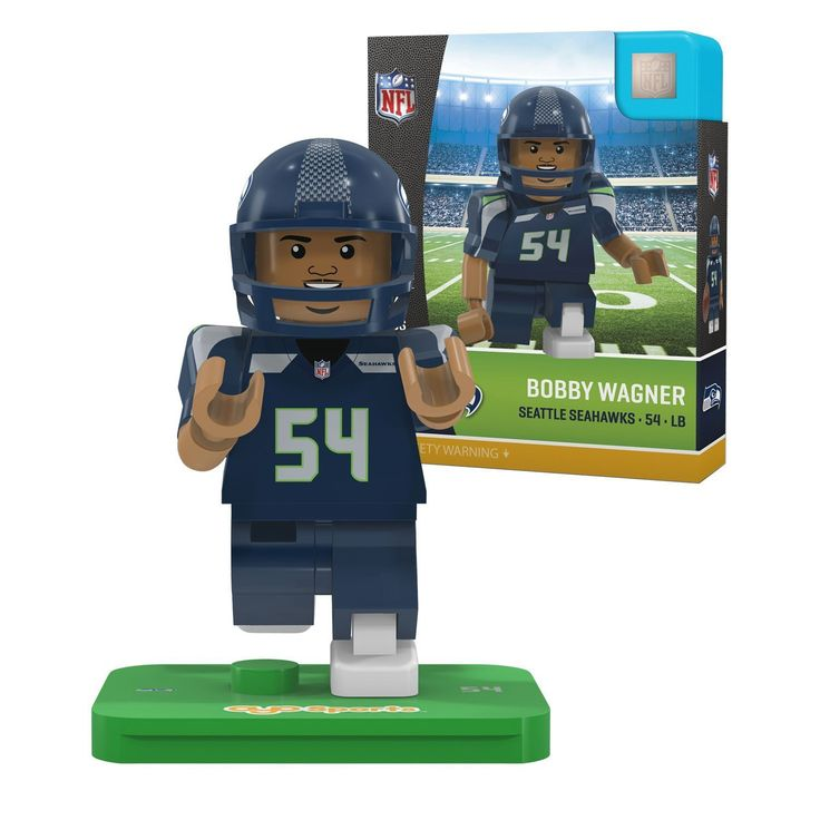 NFL Seattle Seahawks Gen4 Limited Edition Bobby Wagner Mini Figure