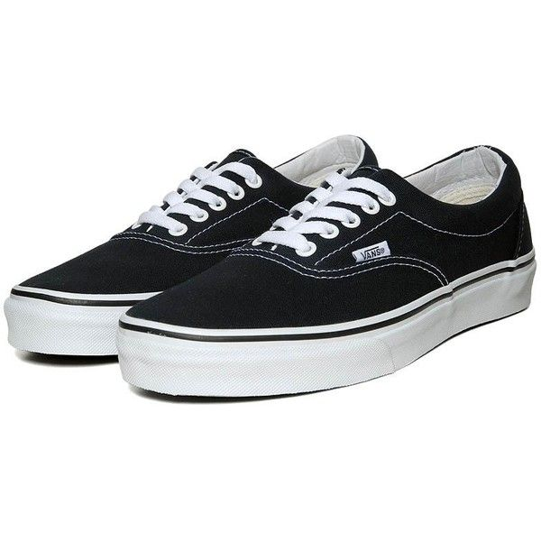 Vans Era ($38) ❤ liked on Polyvore featuring men's fashion, men's shoes, men's sneakers, shoes, sneakers, men, vans, navy, mens sneakers and navy blue mens shoes