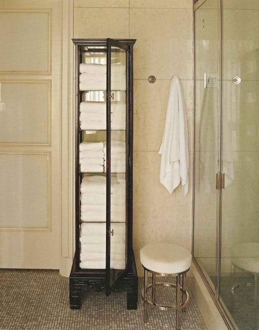towel storage antique cabinet home ideas