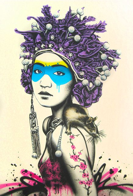Have to remember to follow the artist's vibrant collection - Fin Dac.