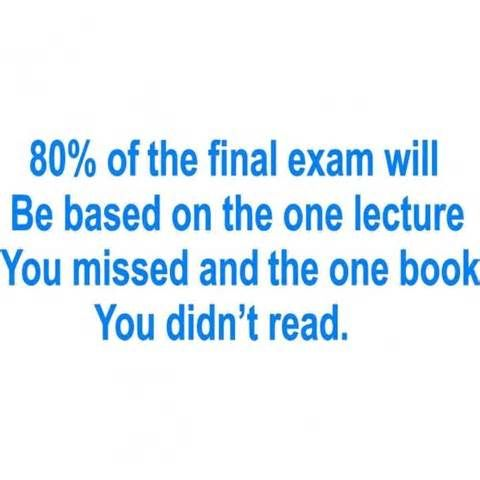 Funny Nursing School | Logic When Taking Final Exam Funny Pictures Quotes Pics