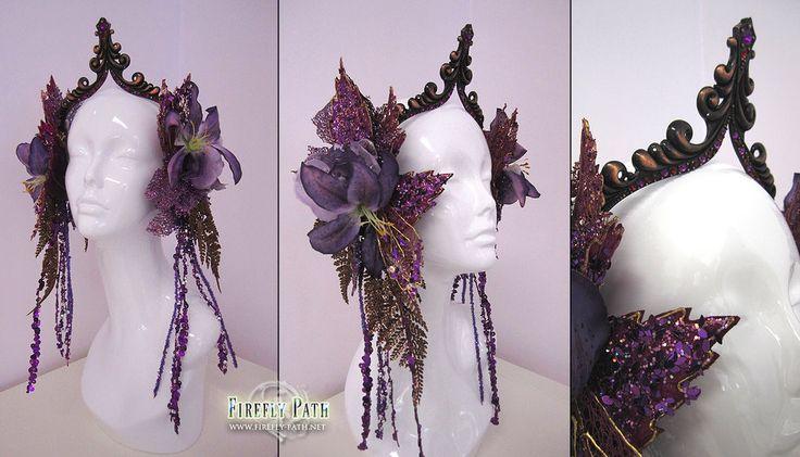 Glittering Amethyst Headdress by Lillyxandra on DeviantArt