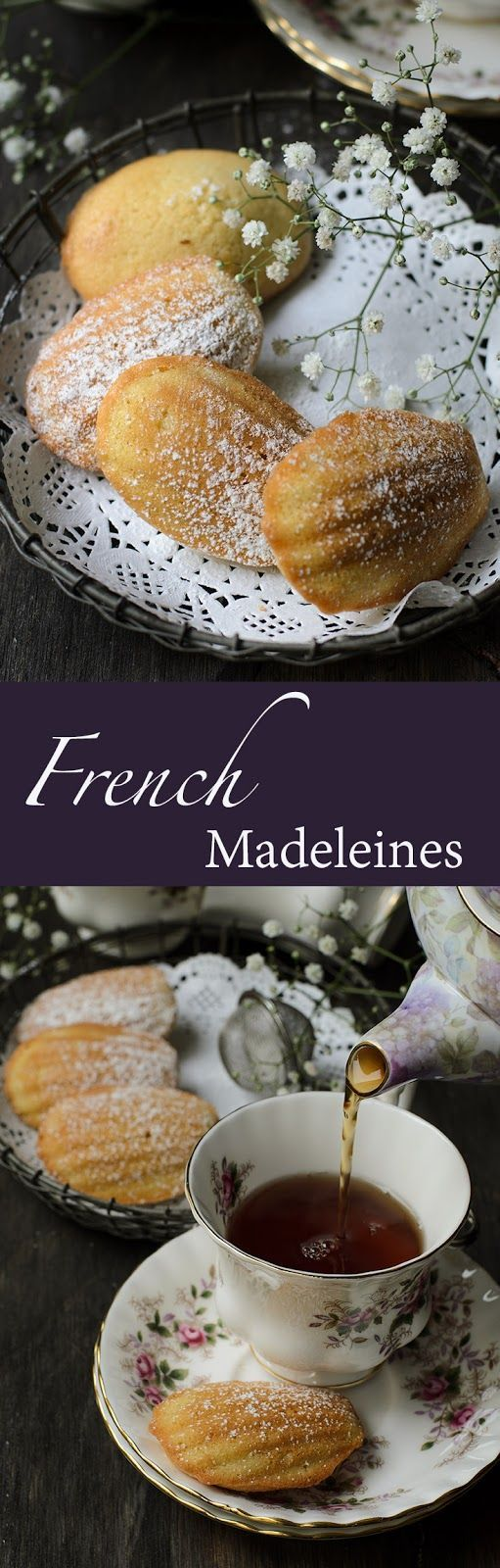 Experimenting in baking French classic Madeleines: simple bake versus Julia Child's